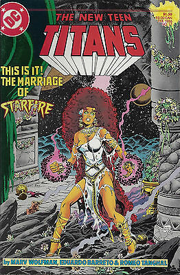NEW TEEN TITANS #17 - Feb 1986