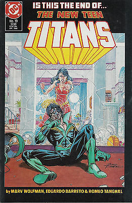 NEW TEEN TITANS #19 - Apr 1986