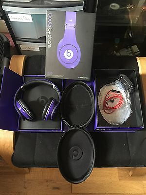 EXCELLENT CONDITION Genuine Beats By Dre Studio (wired) - Purple