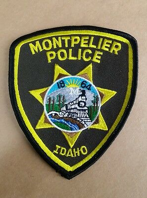 Montpelier, Idaho Police Shoulder Patch Id
