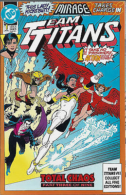 TEAM TITANS  #1  Sep 1992  MIRAGE