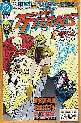 TEAM TITANS  #1  Sep 1992  TERRA