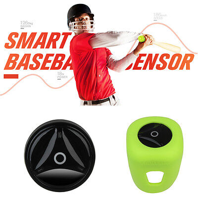Coollang Baseball Bat Tracker Sensor Training Show Swing Data Activity Analyzer