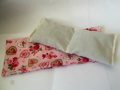Handmade Eye Pillow Yoga Stress Headache Tired Eyes Relief Lavender Camomile