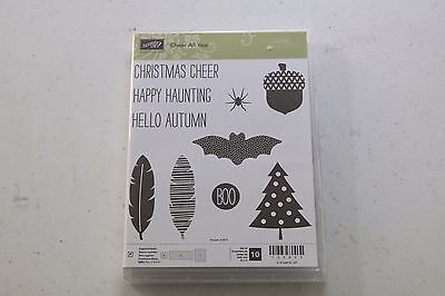 Stampin' Up! Cheer All Year - retired stamp set
