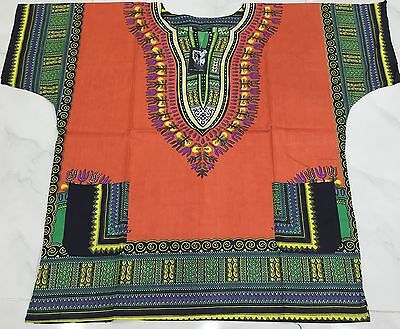 Traditional African Festival Print Dashiki Loose Short Sleeve Mini Party Top