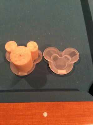 Mickey Mouse Candle Holder and Candle