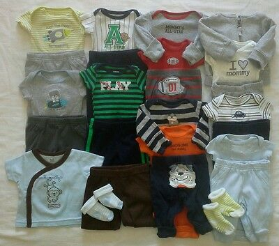 Baby boys newborn Spring Summer Clothes Outfits Clothing Lot