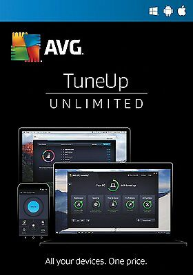 AVG PC TUNEUP 2017 - 2 years - UNLIMITED number of devices - DOWNLOAD