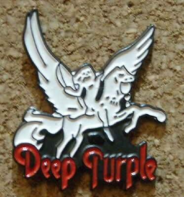 Pin Badge DEEP PURPLE New BUY 5 and get 1 more Free of charge -Read description