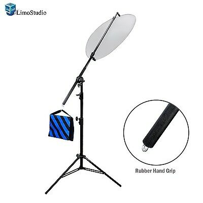 LimoStudio Photo Studio Lighting Reflector Arm Stand Reflector Stand Holder B...