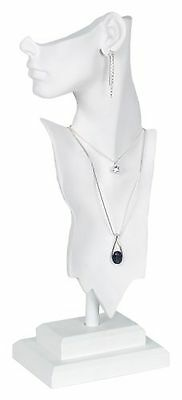 KC Store Fixtures 49155 Jewelry Display Bust with Partial Face for Necklace a...