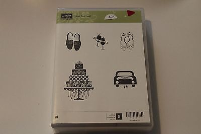 Stampin' Up! Just Married - retired stamp set