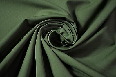 "Olive Drab Green Military NY/CO Ripstop By The Yard Apparel Durable Fabric 66""W"