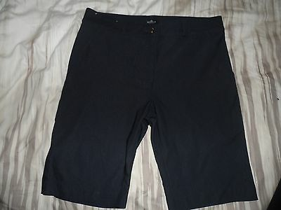 Sporte Leisure Navy Ladies Golf Shorts- Suit Size 10 To 12