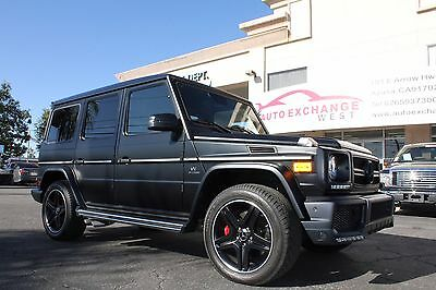 2014 Mercedes-Benz G-Class G63 AMG 2014 MERCEDES BENZ G63 AMG