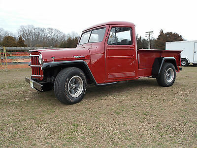 1962 Willys Pickup 1962 Willys/Jeep Pickup Street Rod; 350 Chevy, Turbo 350, A/C, Ex. Cond (video)