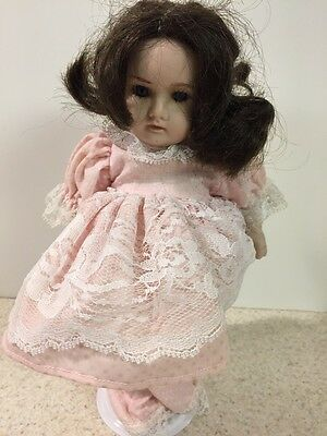 "VINTAGE 10"" DOLL GERMANY BLUE Eyes BISQUE HEAD & Body R769 # 21"