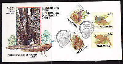 Malaysia 1986 Protected Wildlife  First Day Cover. - Unaddressed