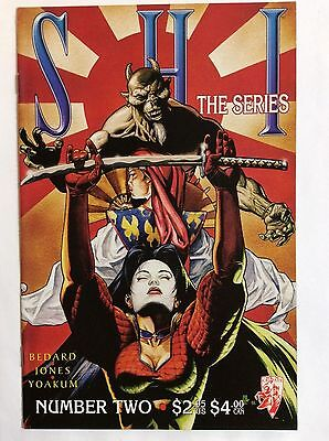 SHI, the Series #2 (Crusade Comics)