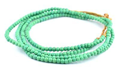 African Green Baby Padre Olombo Beads Nigeria