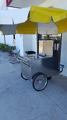 Used All American Push Hot Dog Cart