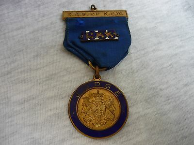 Royal Agricultural Society Of Nsw Enamel Badge 1933