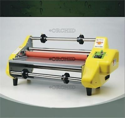 """Roll Laminating Machine Four Rollers For 13"""" Hot And Cold D"""