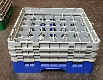 Cambro 36 Compartment Camrack W/ 3 Extenders LOT OF 2