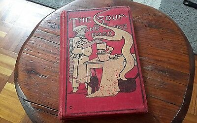 Antique Soup And Sauce Book By Elizabeth Douglas - Cooking, First Edition