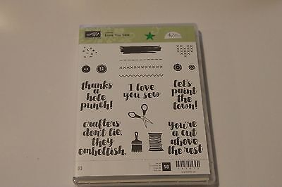 Stampin' Up! - Love You Sew - retired stamp set