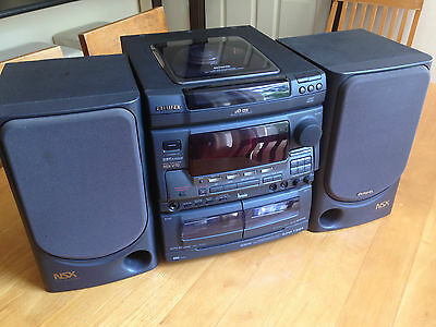 Hifi System Stereo - AIWA - Receiver with Speakers - CX-NV70G / NSX-V70