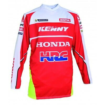 Jersey M Kenny Honda HRC Limited Edition Barreda Cross Enduro Mx Jersey