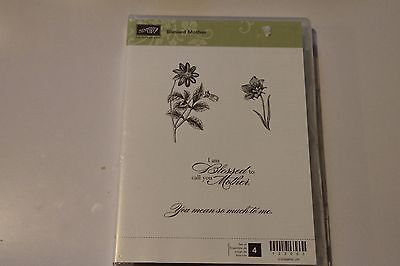 Stampin' Up! - Bessed Mother - retired stamp set