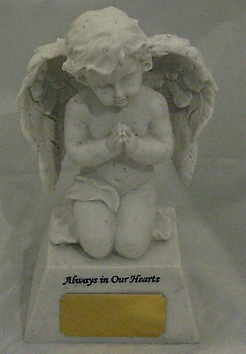 Pet Memorial - Angel - Always in our Hearts  Engraved FREE