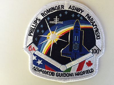 Aufnäher Patch Shuttle Columbia Patch - STS-100