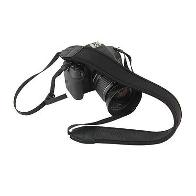 Neoprene Camera Neck Strap For Nikon Canon Sony all SLR DSLR AU