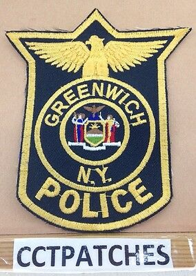 Greenwich, New York  Police Shoulder Patch Ny