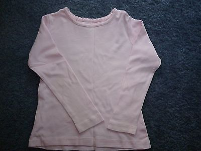 Girls long sleeve top in pink sz 3 - excellent used condition
