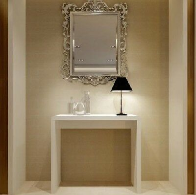 High Gloss Dressing Table Room White Furniture Hallway Modern Console Hall Desk