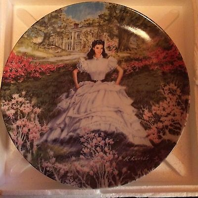 Knowles Collector Plate 'SCARLET' Gone with the Wind series by Richard Kursar