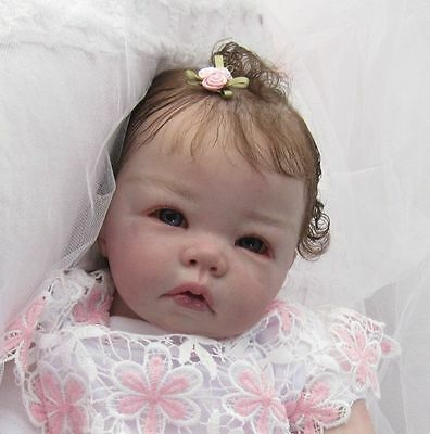 Reborn Baby Doll  *LUCA* Sculpt by Elly Knoops! Beautfiful baby girl!