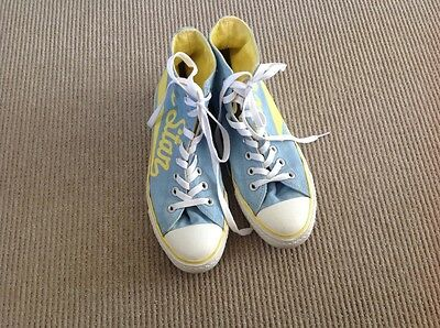 Size 8 Unisex 'Converse All Stars' high top shoes