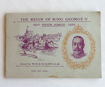 The Reign Of King George V 1935 Wills Cigarette Card Album Quality FULL SET(B42)