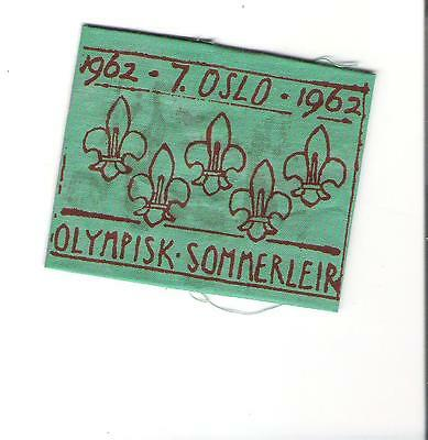 HE Boy Scouts Norway  - 1962 Oslo Winter Olympics - Olympisk Sommerleir
