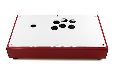 All Metal Modular Custom Arcade Fight Stick Case Enclosure Sanwa Ready US Seller