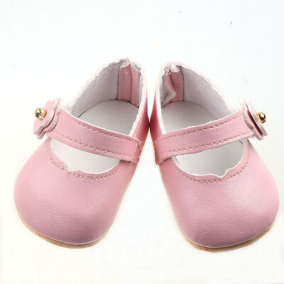 2016 Handmade fashion shoes for 18inch American girl doll party  b681