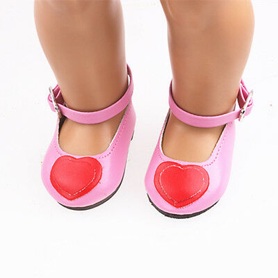 2017new  Handmade fashion shoes for 18inch American girl doll party b646
