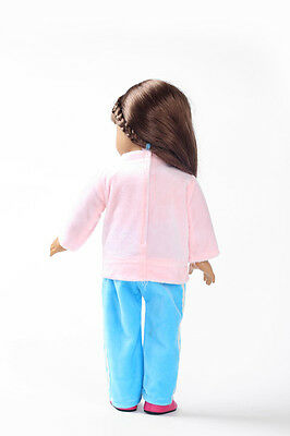 2017 gift Handmade lovely dress clothes for 18 inch American Girl Doll b132