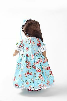 2017 gift Handmade lovely dress clothes for 18 inch American Girl Doll b137